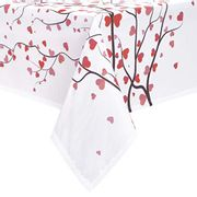 Hleane Rectangle Tablecloth for Valentine's Day - Only £4.25!