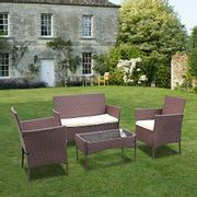 Bigzzia Rattan Garden Furniture Set - Only £259.99!