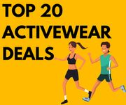 Top 20 Back To The Gym Bargains From £4.20!