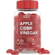 Apple Cider Vinegar Gummies 1000mg - Enhanced with Vitamin B12 & Folic Acid
