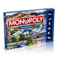 Monopoly WM00277-EN1-6 the Lakes Regional Board Game