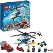 LEGO City Police Helicopter Chase with ATV, Motorbike, Truck Set - Only £14.95!