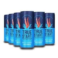 LIGHTNING DEAL - TrueStart Cold Brew Coffee - Vanilla Coconut - 12x250ml