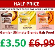 HALF PRICE! Garnier 3-in-1 Nourishing Hair Mask Conditioner