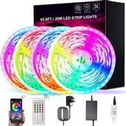 LED Strip Lights with Remote 20M - Only £11.25!