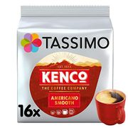 Tassimo Kenco Americano Smooth Coffee Pods (Pack of 5, Total 80 Coffee Capsules)