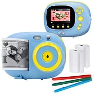 Cam   Kids Instant Print Camera & Video Camcorder