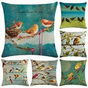Pack of 6 Bird Cushion Covers