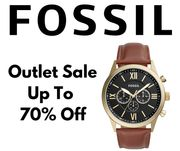 Fossil Outlet Up to 70% off 1,900+ Lines Inc. Watches, Handbags & Wallets