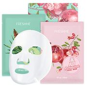 Moisturizing Anti-Aging Red Pomegranate Fruit Facial Mask 6 Pieces - Only £4.49!