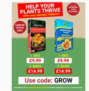 2 X 50L Multi-Purpose Compost £14.99 + Delivered In 2 - 3 Working Days