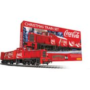 Hornby the Coca Cola Christmas Model Train Set