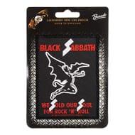 Official Black Sabbath Sold Our Souls Patch (Black)