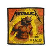 Official Metallica Jump in the Fire Patch (Black/Orange)