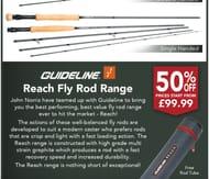 Half Price Fly Rods at John Norris