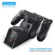 PS4 Controller Charger Dual USB Fast Charging Dock