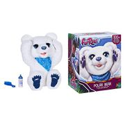 furReal Polar Bear Cub Interactive Plush Toy, Ages 4 and Up