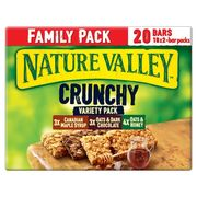 Nature Valley Crunchy Variety Pack 10x2 Bar Packs