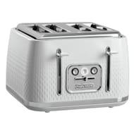 Morphy Richards 243012 Verve 4 Slice Toaster - White