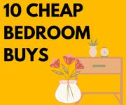 10 Cheap Bedroom Buys From £1.75