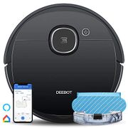 LIGHTNING DEAL - Ecovacs Robotic Vacuum Cleanerwith Mop Smart Laser Technology