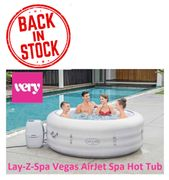 Lay-Z-Spa Vegas AirJet Spa Hot Tub - IN STOCK TODAY! BE QUICK!