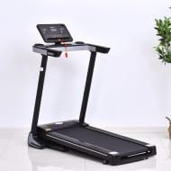 *SAVE £50* HOMCOM Steel LCD Display Motorised Treadmill Black