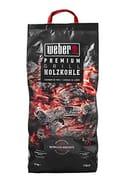 Weber Premium Holzkohle 5 Kg Charcoal, Black