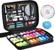 Sewing KIT 126 Pcs DIY Sewing Supplies with 22-Color Threads & Needles