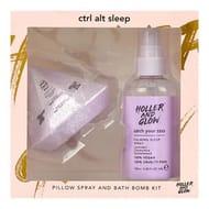 Holler and Glow Ctrl Alt Sleep Bath Bomb and Pillow Spray