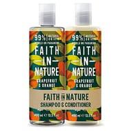Faith in Nature Natural Grapefruit & Orange Shampoo & Conditioner Set
