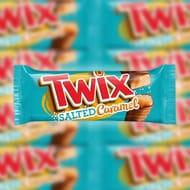 30 X Twix Salted Caramel 46g Chocolate Bars