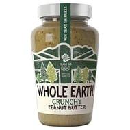 Whole Earth Crunchy Peanut Butter, 454 G