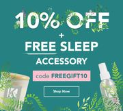 10% off + a Free Sleep Accessory When You Spend £15+