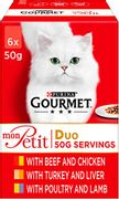Gourmet Petite Cat Pouches Free Del with Prime