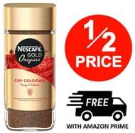 HALF PRICE! NESCAFE Gold - Cap Colombia - Instant Coffee 100g