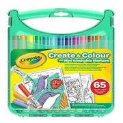 Price Drop - Crayola Washable Markers Create & Colour Case