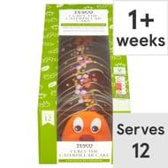 Tesco Curly the Caterpillar Cake Each (Clubcard Price)