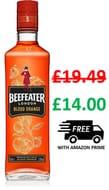 Beefeater Blood Orange Gin, 70cl