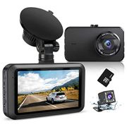 DEAL STACK - Dash Cam Front and Rear with SD Card + 20% Coupon