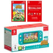Nintendo Switch Lite-Turquoise + Animal Crossing - Only £194.85!