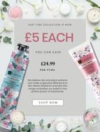 £5 Hand Cream Saving £24.99
