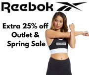 Reebok 25% Off Spring Sale + Extra 25% Off Outlet