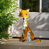 Metal Fox Garden Ornament - Only £12!