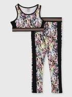 Animal Print Dance Crop Top & Leggings (3-14 Years)  from £6.50