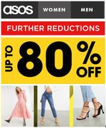 ASOS SALE - Further Reductions - up to 80% Off