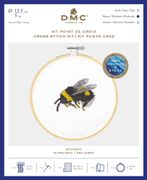 DMC Bumblebee Cross Stitch Kit (With 5in Hoop)