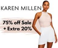 Karen Millen Up to 75% off Sale + Extra 20% off Code