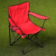 2 Folding Camping Chairs with Cup Holder 3 Colours