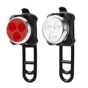 Rechargeable Led Bike Lights Set| Half Price!